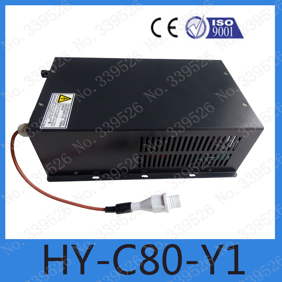 D9 connector 80w yueming power source for co2 laser engraving and cutting machine