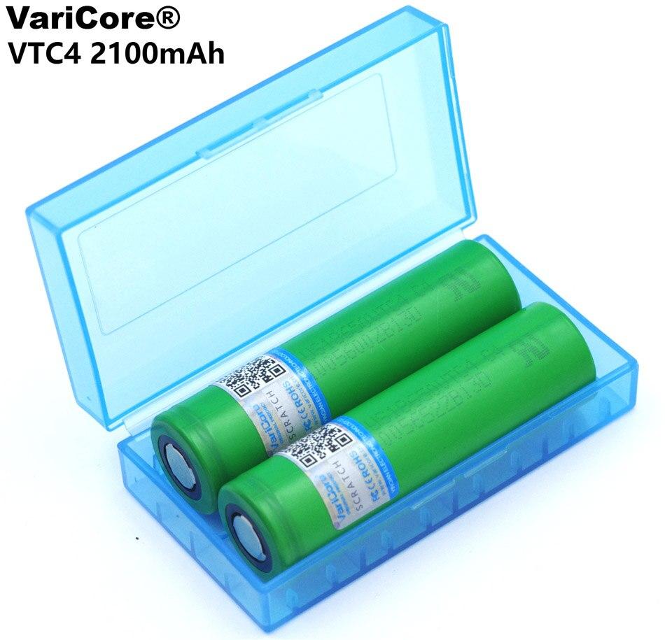 VariCore 2PCS US18650 for Sony VTC4 2100mAh 18650 3.6V lithis