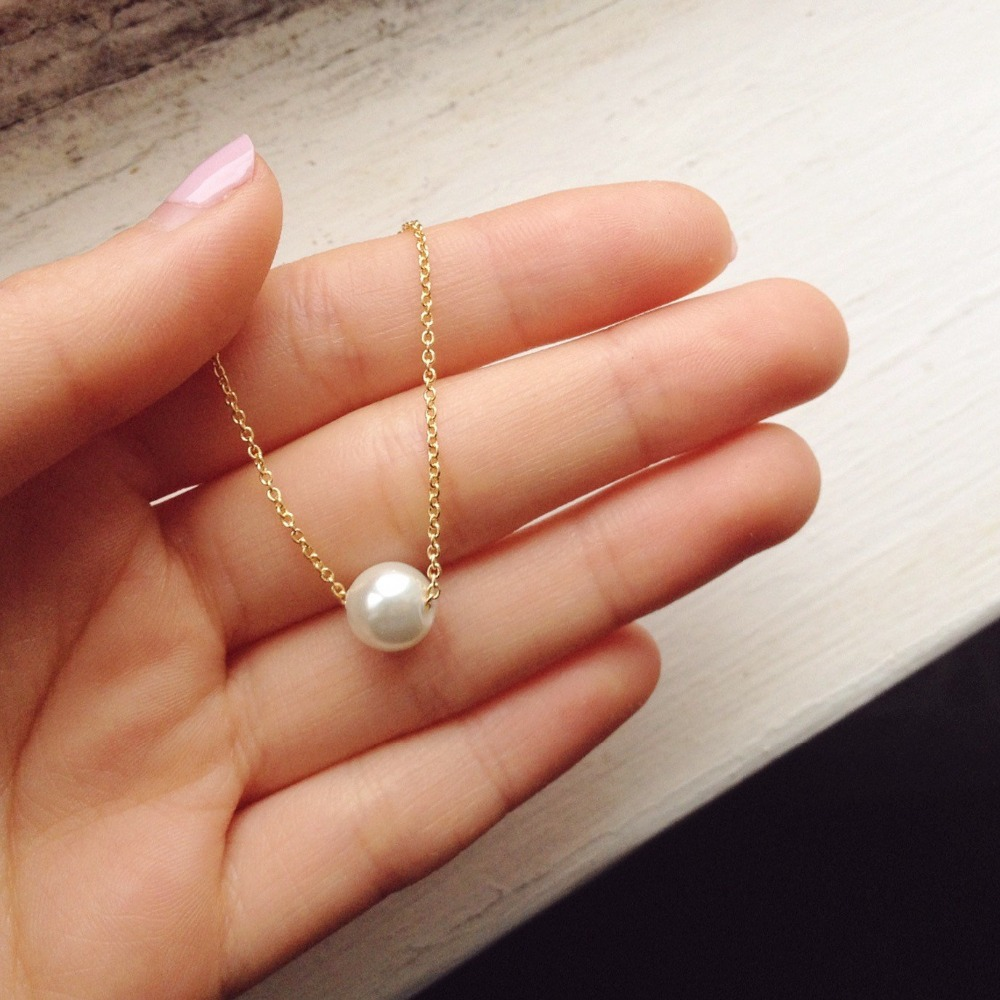Kbjw New Simple Imitation Pearl Bracelet Handmade Elegant And Delicate  Perfectly Round Pearl Charm Bracelet For