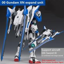 Effectswings xn expandem peças modificadas para bandai mg 1/100 00r sete espada gundam de014