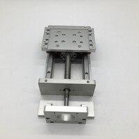 12 раздвижной стол 300 мм ход электромотор для 3D принтера XYZ Axis крест Электрический Слайд линейная платформа SFU1605 шариковый винт HG15 направляющ