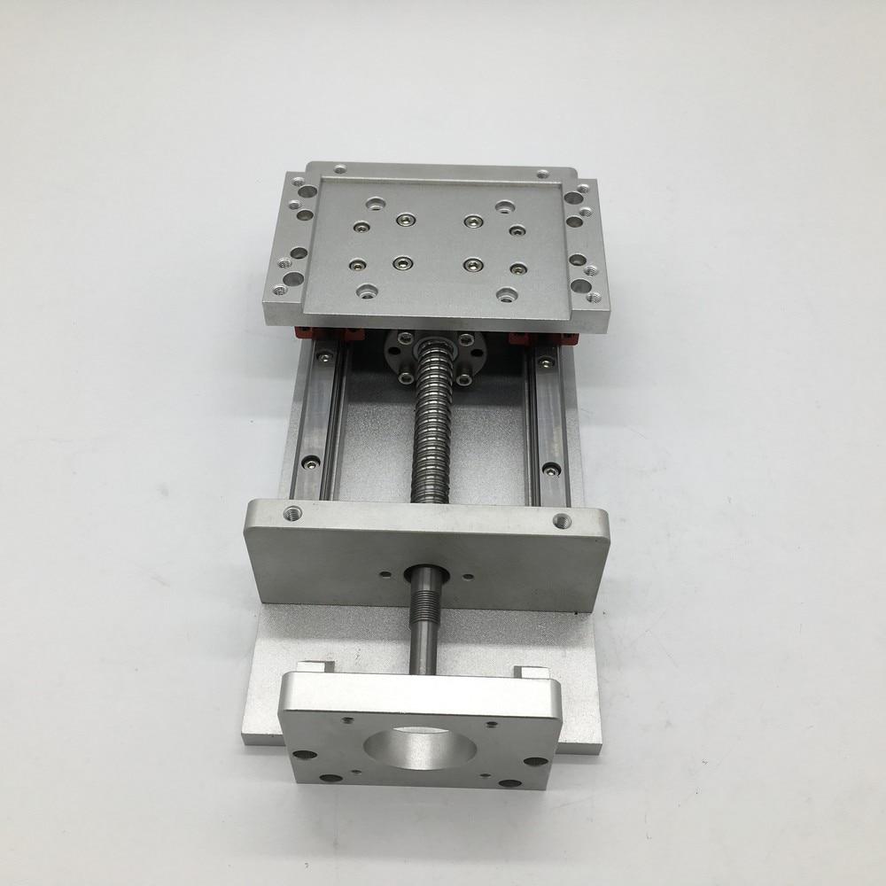 12 Table coulissante 300 MM course axe XYZ croix ElectricSlide linéaire étape SFU1605 vis à billes HG15 plate-forme de guidage forage de CNC