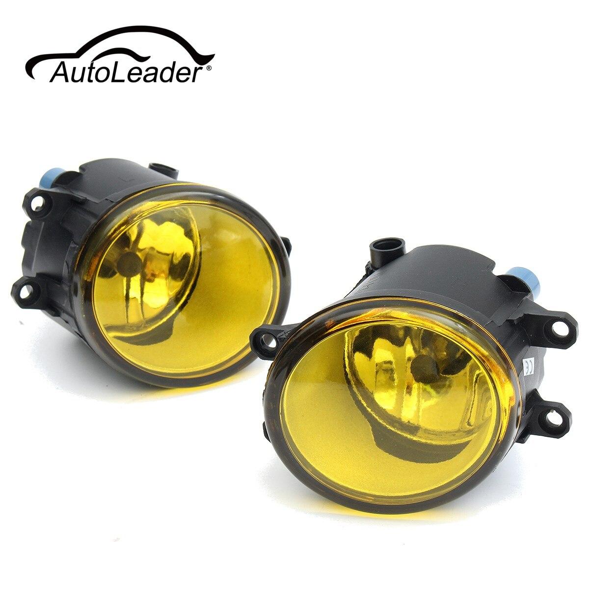 AutoLeader 1 Pair Front Fog Light H11 55W Halogen Bulbs Fog Lights Lamp For Toyota/Camry/Carola/Vios/RAV4