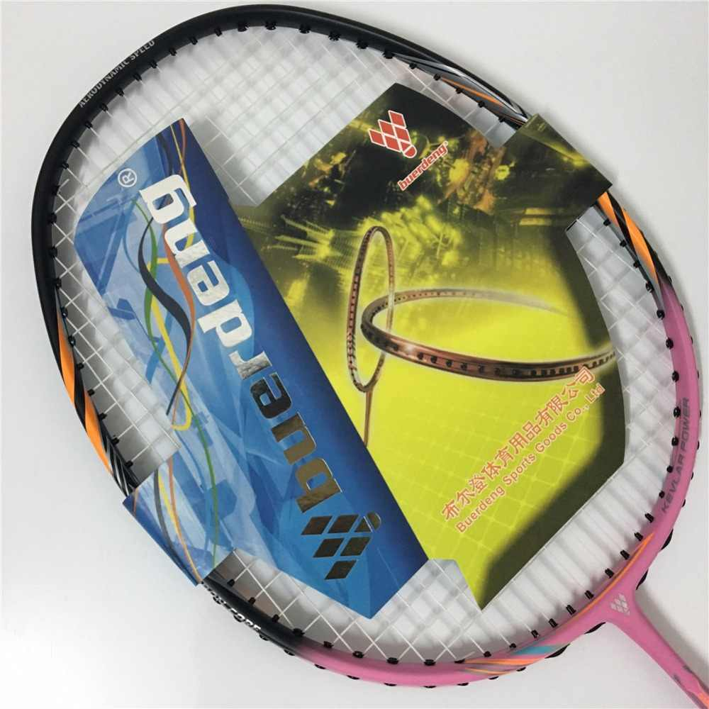 Wholesale customized badminton racket 100% carbon fiber high quality racket badminton