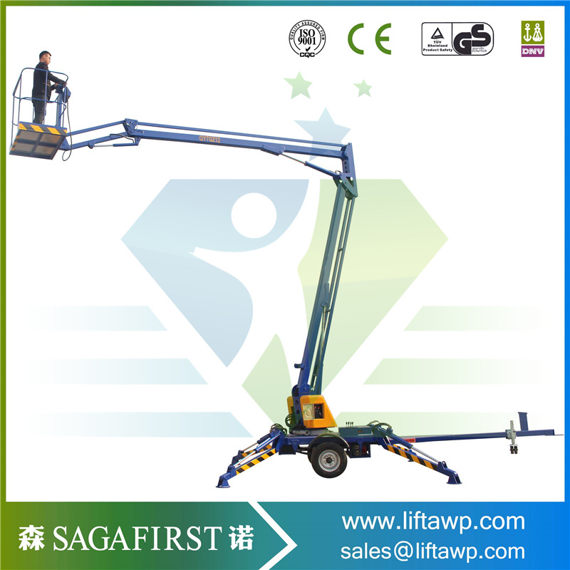 6m To 10m 200kg Ce Approved Articulating Aerial Working Platform
