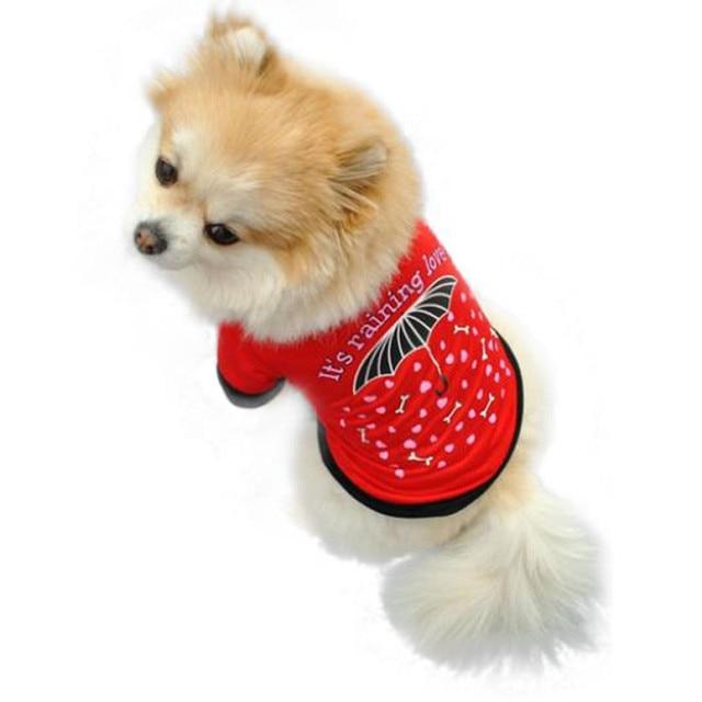 2018 neue Sommer Pet Welpen Hund hemd Katze Pet Kleidung Weste T Shirt Bekleidung Heißer littlest pet shop T-shirt mit ein hund sommer mantel
