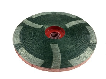 """4 Inch 100mm 5/8""""-11 M14 Arbor Thread Resin Filled Diamond Sanding Grinding Disc Cup Wheel For Stone Concrete Marble Granite"""