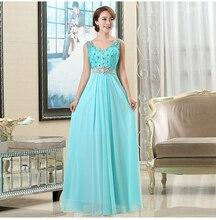 Elegante Lange Abendkleider Eine Linie Bodenlangen Chiffon Formal Abendkleid Günstige Robe De Soiree