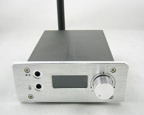 Продвижение ST-1A 1 Вт fm стерео PLL трансляция радио передатчик 87-108 МГц + Короткая антенна + Powersupply КИТ только 89 USD Бесплатная доставка