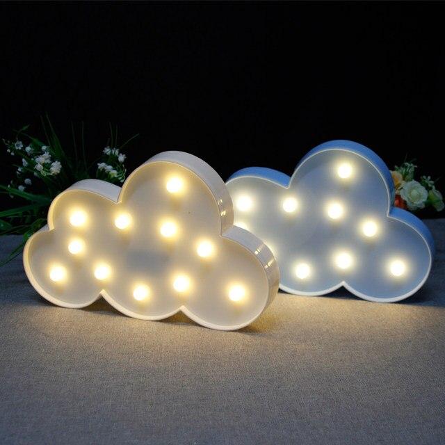 Online-Shop Amagle 3D Mond Lampe Nachtlicht Wolke Mond FÜHRTE Sterne ...