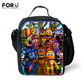 FORUDESIGNS 2017 Hot Bolsa Termica Five Nights at Freddys Lunch Bags For Kids Insulated Picnic Food Lunch Box School Food Bags