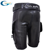 YONSUB Diving Neoprene Wetsuit Tech Shorts Men Submersible D ring Short Pants Protective rubber prints Surf Snorkeling equipment