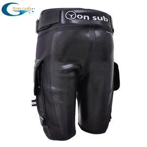 YONSUB Scuba Diving Shorts with Pocket 3mm Neoprene Tech Shorts Wetsuits Spearfishing Surfing Shorts Canoeing Kayaking Shorts(China)