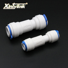 "1/4"" 3/8"" quick connect check valve for ro pure water reverse osmosis system filters water filter"