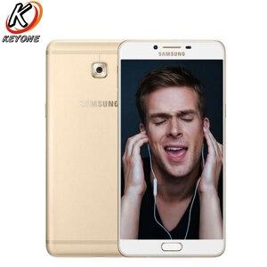 Image 2 - Nouveau téléphone portable SAMSUNG GALAXY C9 Pro C9000 LTE 6.0 pouces 6 go de RAM 64 go ROM Octa Core 16MP 4000 mAh Android 6 téléphone double SIM