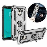 Para Samsung Galaxy S8 S9 S10 E Plus S20 Ultra 5G Nota 8 9 10 Pro armadura caso para J4 J6 A6 A7 A8 2018 J5 J7 2017 cubierta