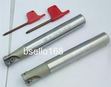 2pcs 20mm indexable end mill EMR 5R 20x150l BAP400R 20x150L
