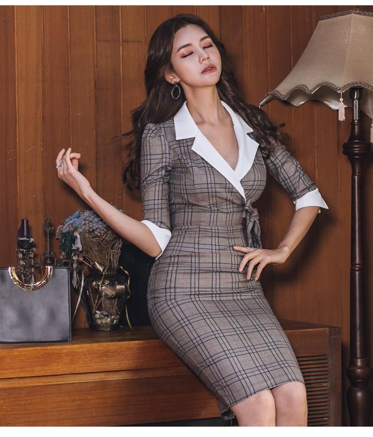 Dress discount Autumn Knee-Length 4