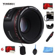 YONGNUO YN50mm YN50 F1.8 II Camera Lens EF 50mm AF MF Lenses For Canon Rebel T6 EOS 700D 750D 800D 5D Mark II IV 10D 1300D canon ef 50mm f 1 2 l usm standard telephoto lens for 70d 760d 750d 7d ii 5d iii
