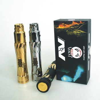 AV Collector MOD kit e-cigarette stealth Material mech mechanical mods complete kit 18650 battery RDA atomizer vaporizer mod kit e cigarette mech mod kit built in 18650