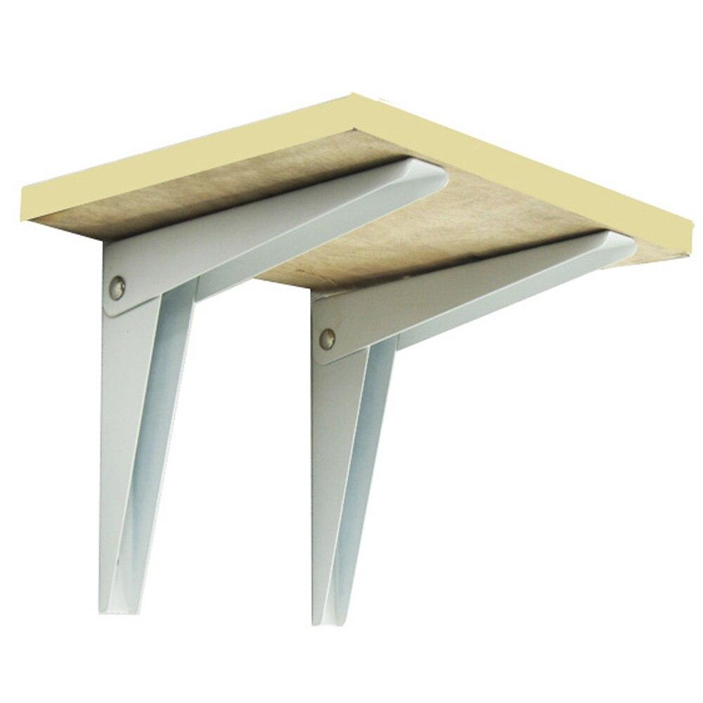 4pcs Folding Shelf Bracket Porous Folding Scaffold Home