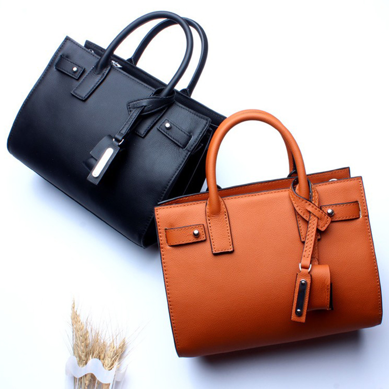 Maihui designer handbags high quality ladies Top-handle bags new cowhide real genuine leather saffiano bag with shoulder strap