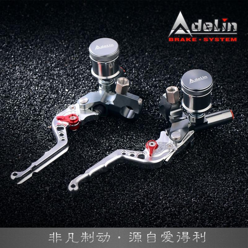 Adelin Px2 Px3 Motorcycle Brake Master Cylinder 7/8 Hydraulic Clutch Lever Universal For Honda Yamaha Kawasaki Suzuki Scooter