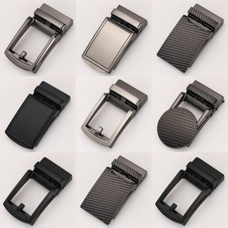 Men's Business Alloy Automatic Buckle Unique Men Plaque   Belt   Buckles for 3.5cm Ratchet Men Apparel Accessories designer   belt   Y11