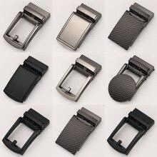 Men's Business Alloy Automatic Buckle Unique Men Plaque Belt Buckles for 3.5cm R
