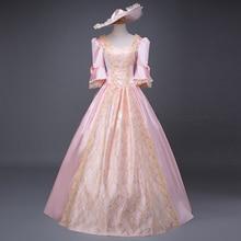 Marie Antoinette Southern Belle vestido de Baile Vestido de Reconstituição Vestuário Medieval Princesa Festa Vestido de Baile
