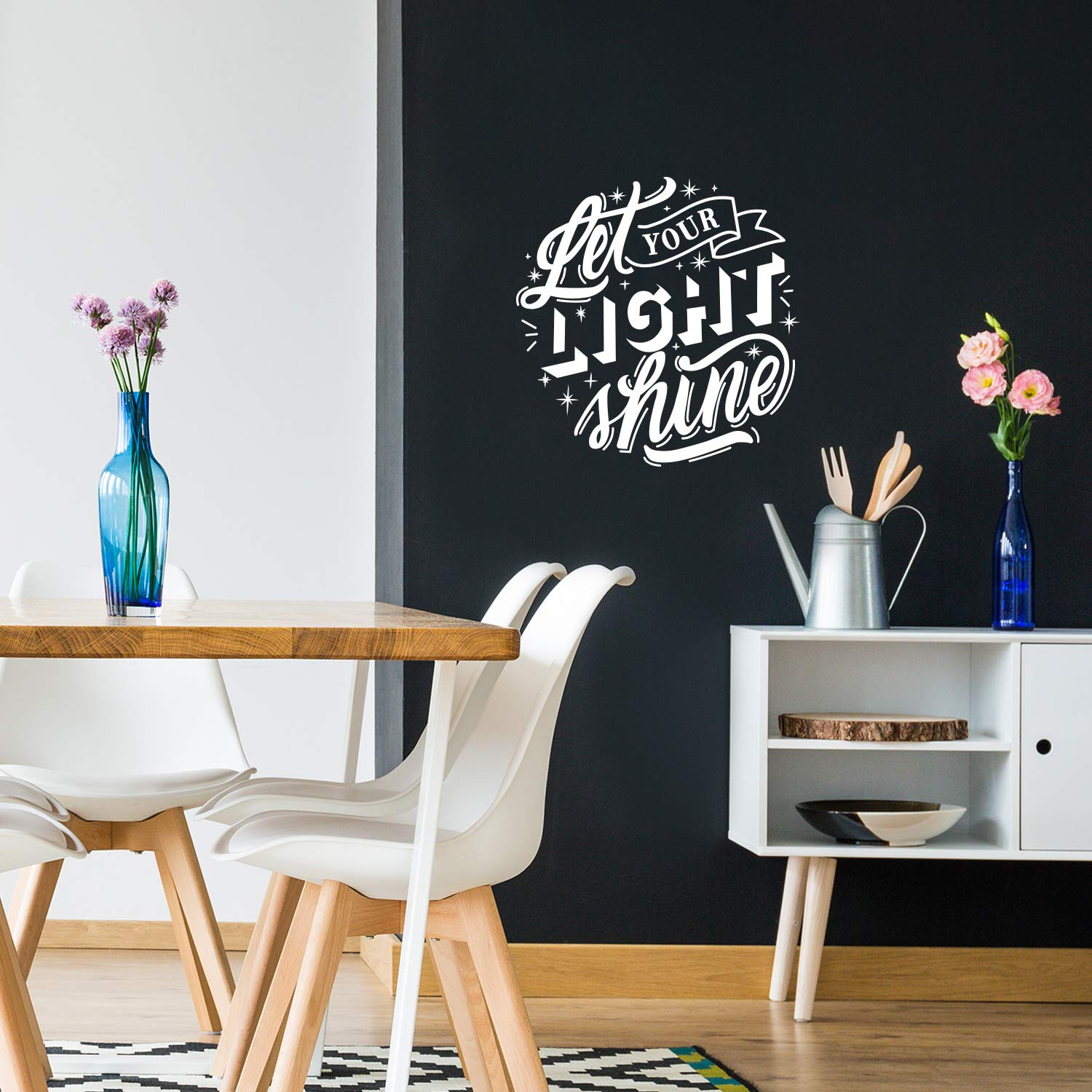 Hot english quotes Wall Sticker Home Decoration Accessories For Decor Waterproof Art Decal
