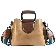 Premium Quality Women Lady Handbag Tote Purse Wide Strap Leather Messenger Hobo Bag Satchel Shoulder Bags недорого