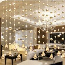 Новейшая 1 Роскошная стеклянная бусина, занавес с кисточками, свадебная разделительная панель, декор для комнаты C7727