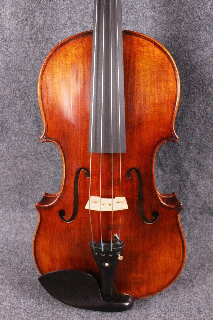 Natural Ebony Fingerboard 16 Size Viola Parts Violin Parts & Accessories 1pcs Student Viola White Neck