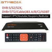 עבור dvb digital V8 Pro 2 DVB-T2 Terrestrial Digital Receiver הממיר ומולטימדיה נגן H.265 / H.264 / MPEG-2/4 תואם DVB-T עבור טלוויזיה (1)