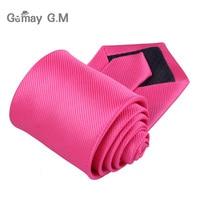 Новые Классические однотонные Галстуки для Для мужчин модные Повседневное шеи галстуки Бизнес Для мужчин s Галстуки 8 см Ширина галстук жениха для вечерние