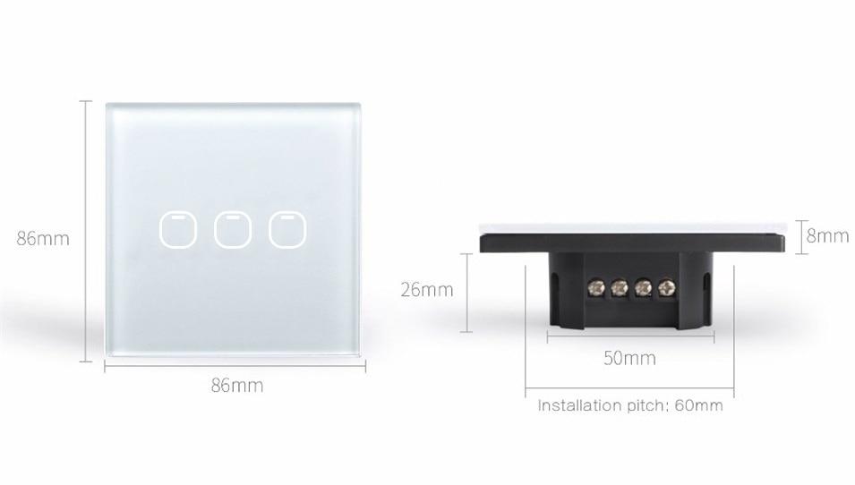 Interruptores e Relés de rf433 grande remoto Interruptor : Interruptor Liga / Desliga