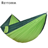 Ultralight 2 Person Hammock Sleeping Bed With Straps Carabiners Outdoor Furniture Large Hamac Sleeping Bed Hamak