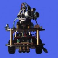 Mini Bluetooth Robot Smart Car DIY Robot Kit For Arduino Study Starter Little Turtle