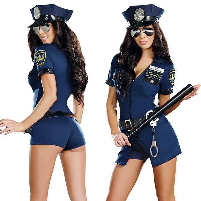 Нежности с полицейской секси