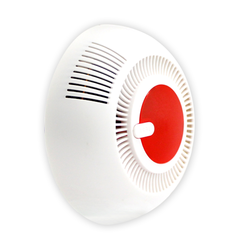 High Quality Independent Smoke Detector Standalone Photoelectric Smoke Alarm High Sensitive Alarm System Fire Protection Sensor
