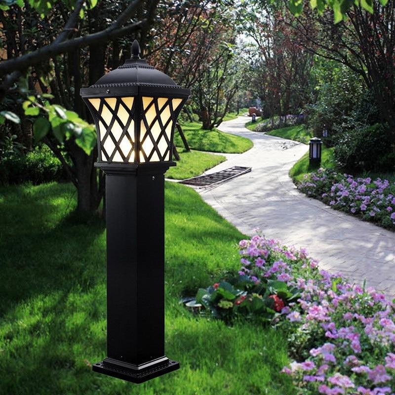 Vintage outdoor lamp posts lighting antique cast iron light post lamp post lights 65 ft solar lamp post light w 2 smd leds street mozeypictures Images