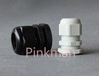 100pcs Metric System Black M16 Nylon Cable Glands