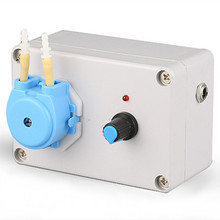 цена на 24V laboratory dedicated leak-free peristaltic pump clear pump with high precision and long service life