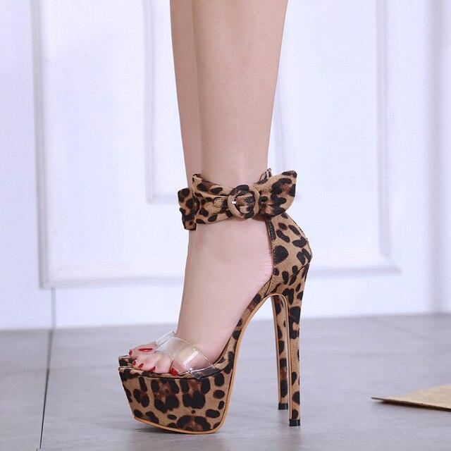 e84fdb0a713 US $27.19 50% OFF Aliexpress.com : Buy BIG SIZE 40 super High Heels Wedding  Party Shoes Women Pumps High Heels 14cm Thick Soles Open peep Toe Sexy ...