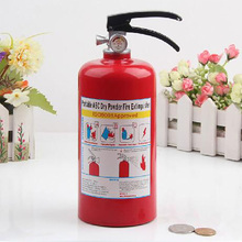 Money Box Fire Extinguisher Piggy Bank for Money Plastic Decoration Coins Piggy Bank Gift Tirelire Safe Moneybox for Kids Gifts цена