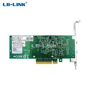 Image 3 - LR LINK 1001PF 2SFP 25Gb الألياف البصرية محول إيثرنت ثنائي المنفذ PCI Express بطاقة الشبكة إنتل XXV710 نيك