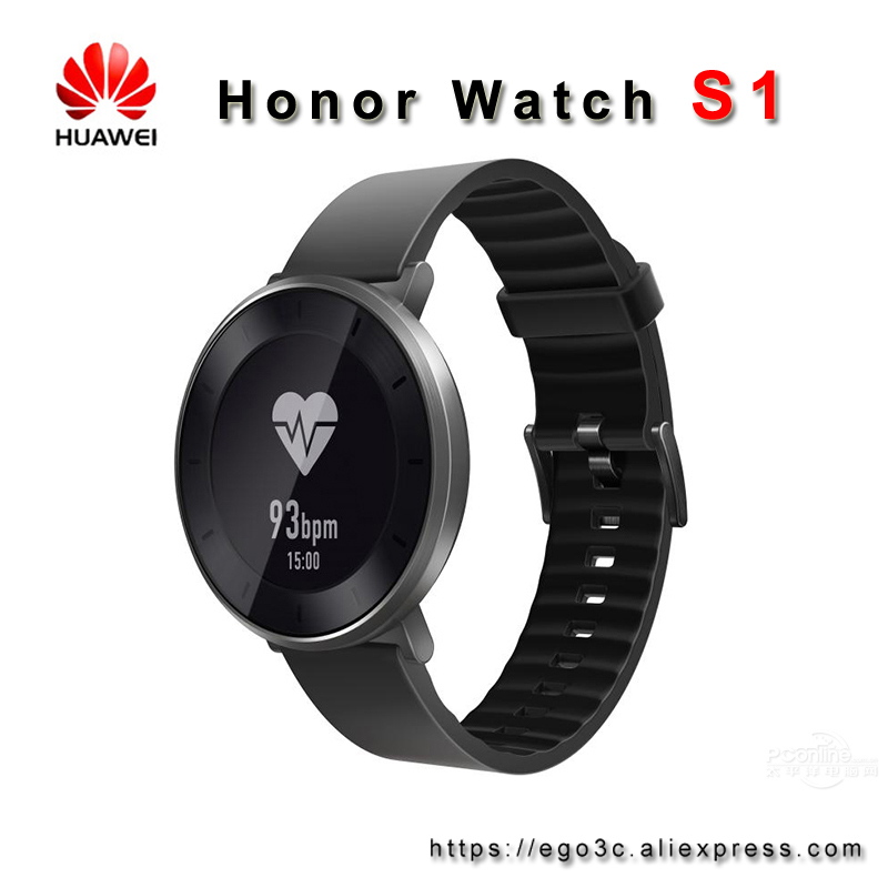 Huawei Fit Honor S1 Smart Watch 5ATM SWIM SUPPORT USING UP TO 6DAY STANDBY CONTINUOUS HEART