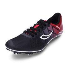 Шипы для беговой обуви; Цвет черный, розовый; мужские и женские спортивные кроссовки; сезон весна-лето; нескользящие кроссовки для бега; кроссовки для подростков