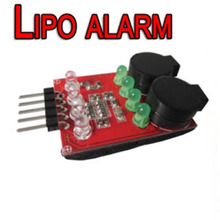 Hot Sell1 4S LED Low Voltage Buzzer Alarm Lipo Voltage Indicator Checker Tester New Sale